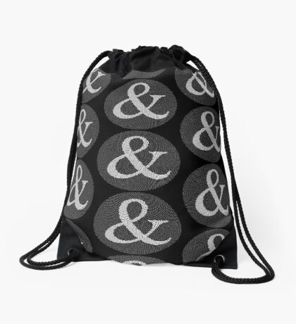 Phyllotaxis Ampersand Drawstring Bag