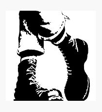 Punx Boots Photographic Print