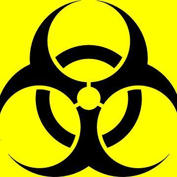 Biohazard Symbol by Crampsy