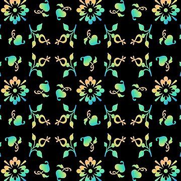 Floral pattern by quentinjlang