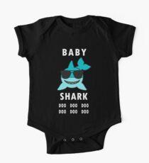 Baby Shark Shirt Doo Doo Doo, Kids Matching T-Shirt Bodysuit, Baby Jaws Bodysuit, Baby Shark Birthday, Funny Shark Shirt One Piece - Short Sleeve