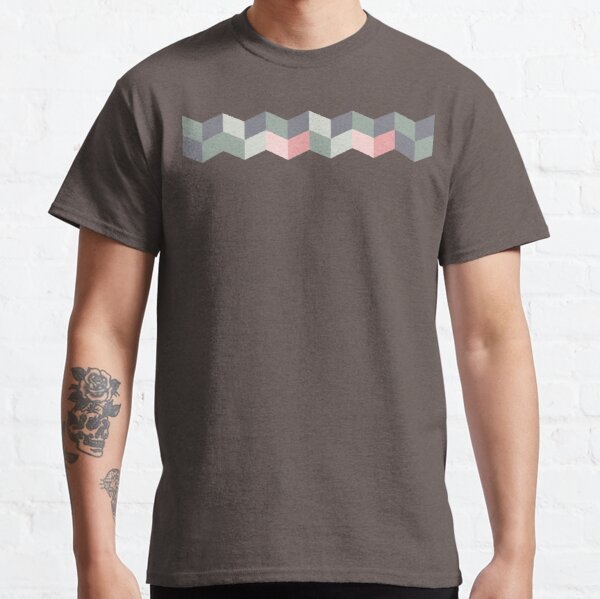 Geometric Pattern: Chevron: Cacti Classic T-Shirt