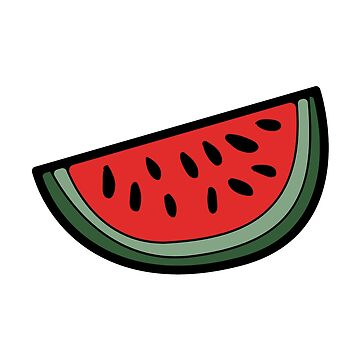 Slice of Watermelon. by ivector