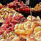 Mixed Dried Fruit Display by Dorothy Berry-Lound