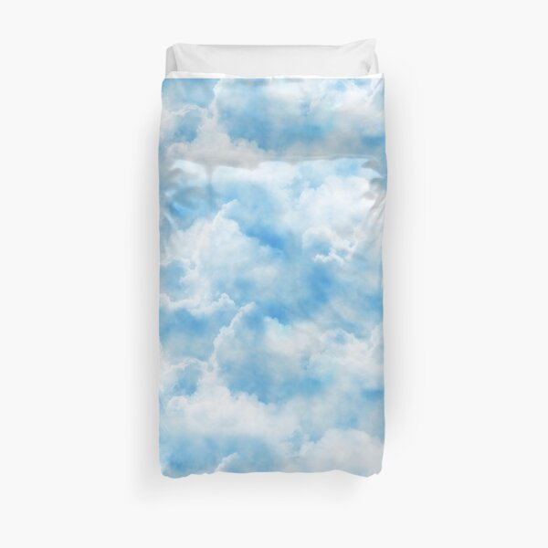 Clouds Print Duvet Cover