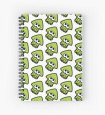 Cuaderno de espiral calamar (verde lima)