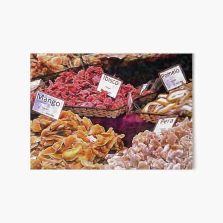 Dried Fruits With Italian Names Art Board Print