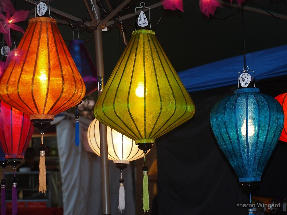 lanterns by sharon Wingard