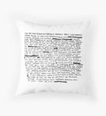 RIP XXXTENTACION Throw Pillow