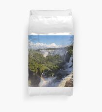 Puerto Iguazu Waterfalls on Argentian Side Duvet Cover