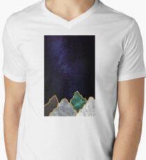 Final Peaks Men's V-Neck T-Shirt