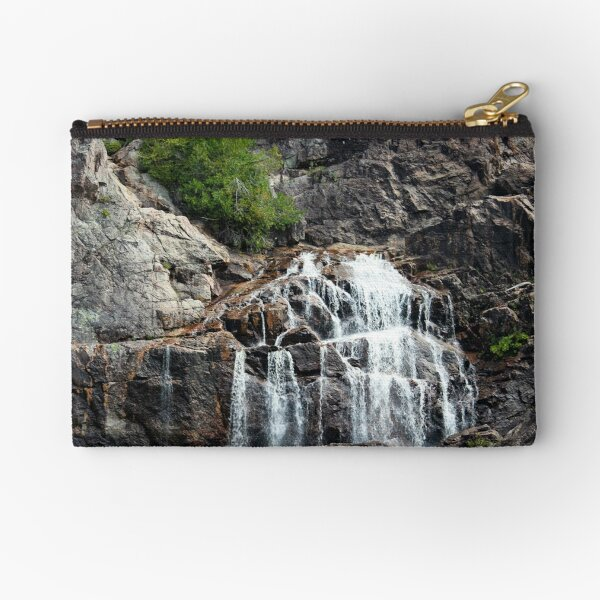 Canyon waterfalls Zipper Pouch