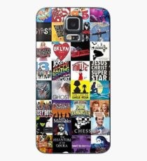 Funda/vinilo para Samsung Galaxy Musicales Collage leggins