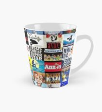 Musicals Collage leggings Tall Mug
