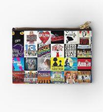 Musicals Collage leggings Studio Pouch
