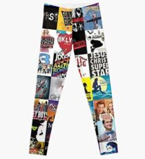 Musicals Collage leggings Leggings