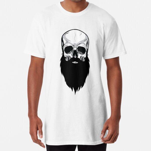 Bearded skull Long T-Shirt