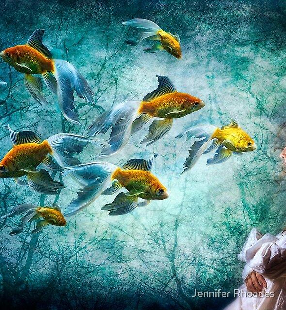 Ocean Deep Dreaming by Jennifer Rhoades