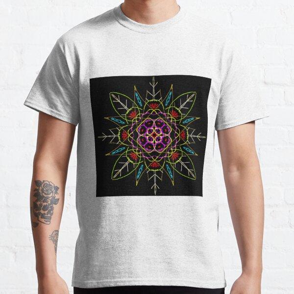 flower mandalart Classic T-Shirt