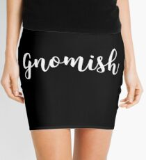 Gnomish Dungeons and Dragons DND Gaming Mini Skirt