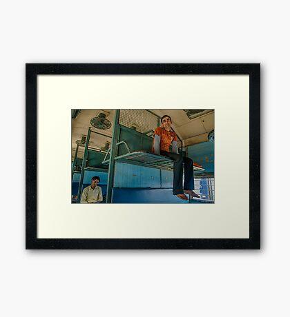 Still Space to Breathe Framed Print