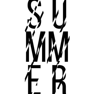 Summer typo by Destroyed-Pixel