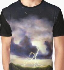 Night Thunderstorm Graphic T-Shirt