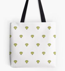 Geometric pattern with linear diamonds Tote Bag