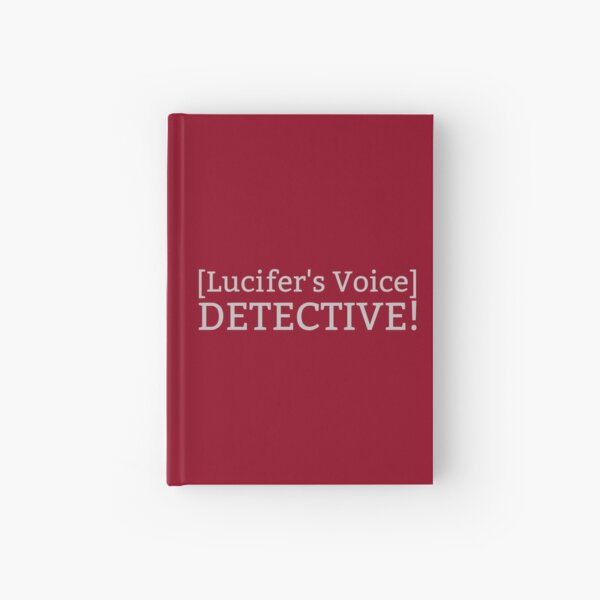 [Lucifer's Voice] DETECTIVE! Hardcover Journal