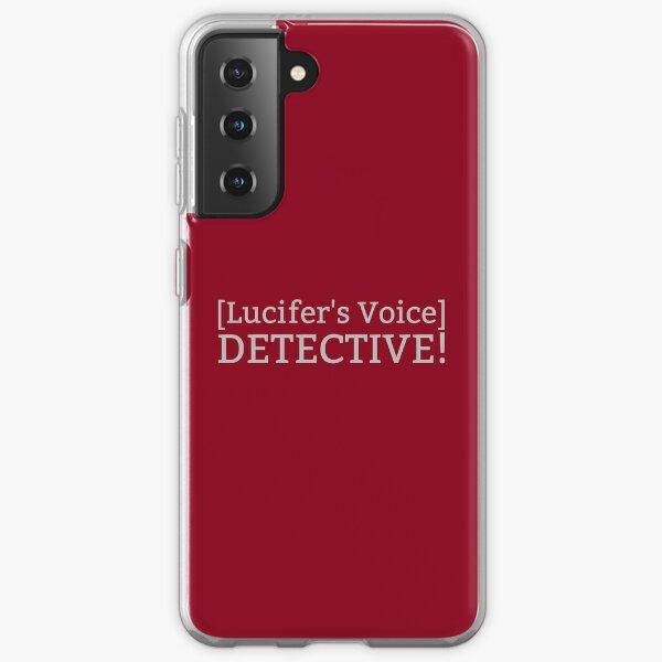 [La voz de Lucifer] ¡DETECTIVA! Funda blanda para Samsung Galaxy