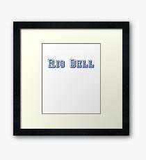 Rio Dell Framed Print