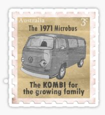 Volkswagen Kombi Tee Shirt - Lowlight Stamp Sticker