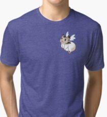 Cute lil' Hamster Angel Tri-blend T-Shirt