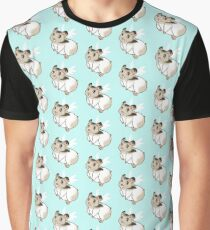 Cute lil' Hamster Angel Graphic T-Shirt