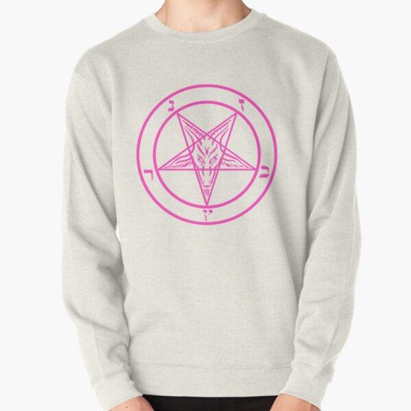 Pink Satan Pullover Sweatshirt