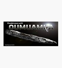 Rendezvous with Oumuamua Photographic Print