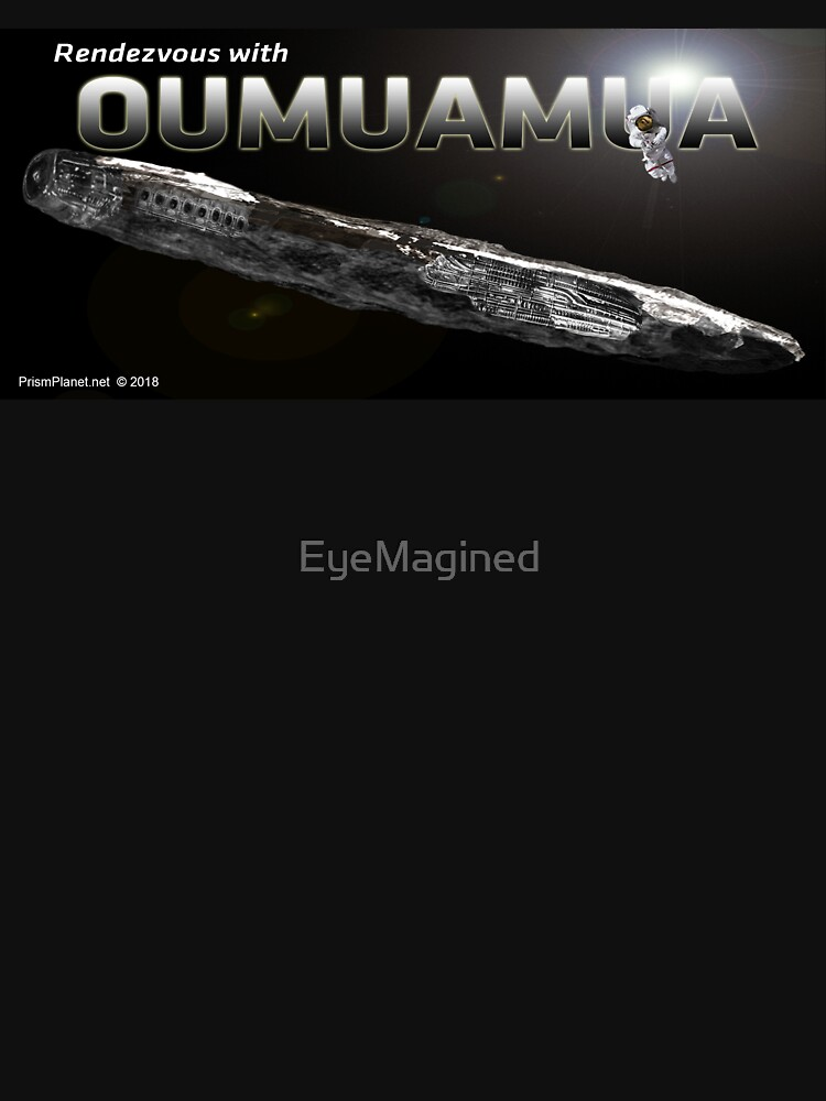 Rendezvous with Oumuamua by EyeMagined