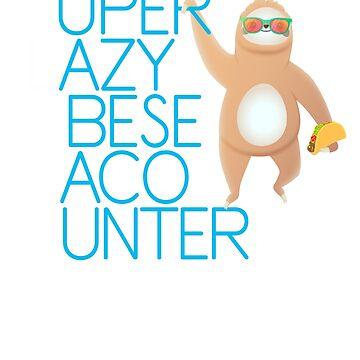 Taco Hunter Sloth by treshabox