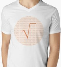 Camiseta para hombre de cuello en v Racine Carrée - Papaoutai