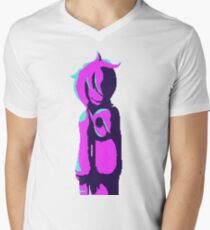 Pixel Neon Talon Men's V-Neck T-Shirt