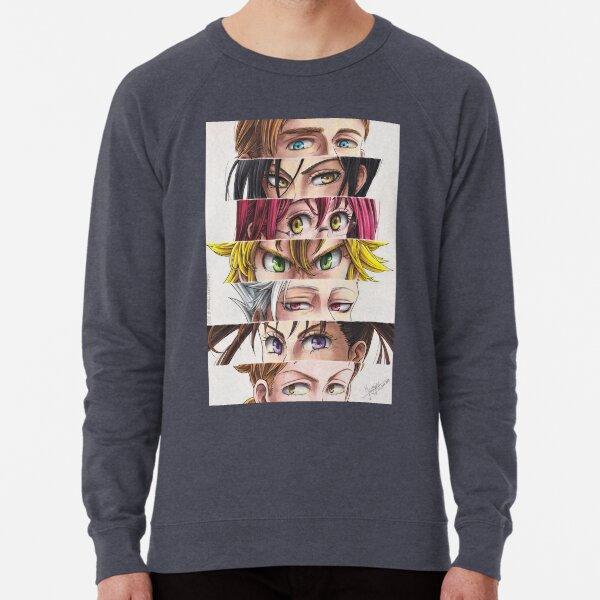 NnT: Sins' eyes Lightweight Sweatshirt