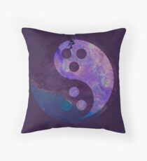 Dudeist Nebula Throw Pillow