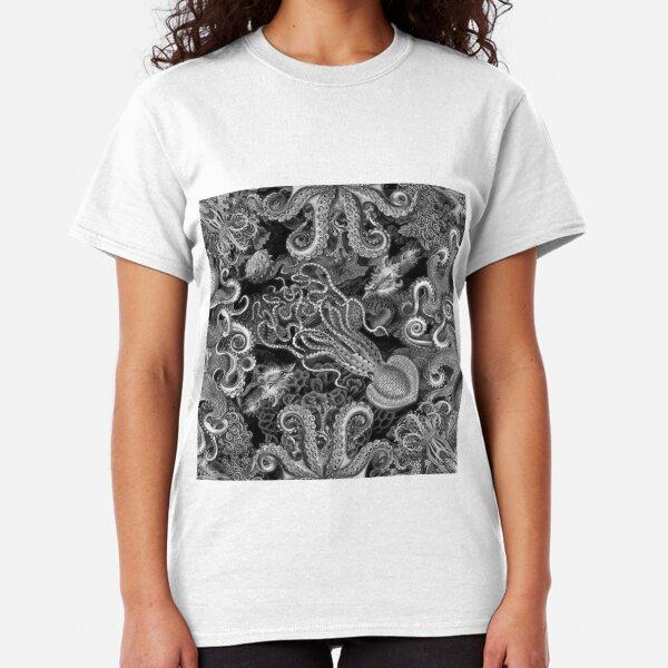 The Kraken (Black & White, Square, Alt) Classic T-Shirt