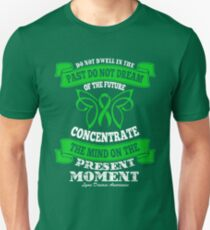 Do Not Dwell In The Past! Lyme Disease Awareness Unisex T-Shirt