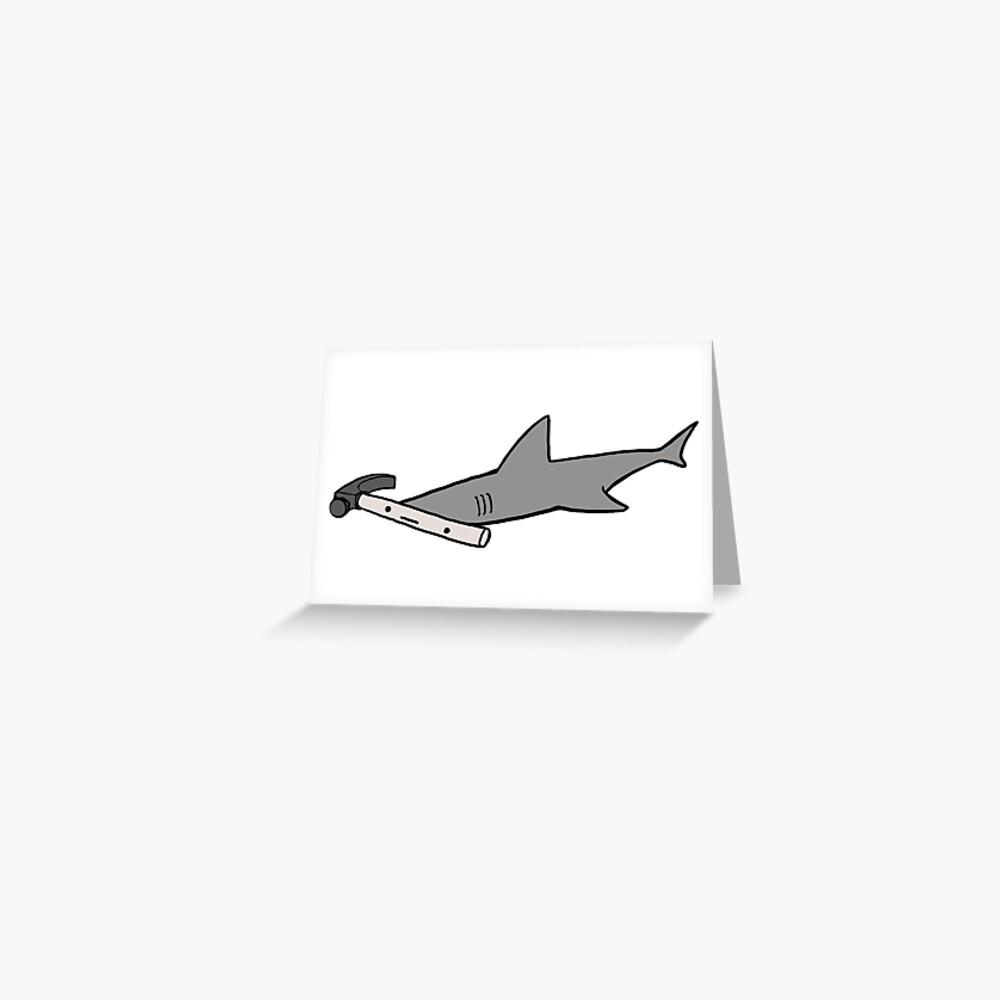 Hammerhead Shark Heavyweight Canvas Duffel Bag
