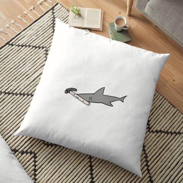 Hammerhead Shark Floor Pillow