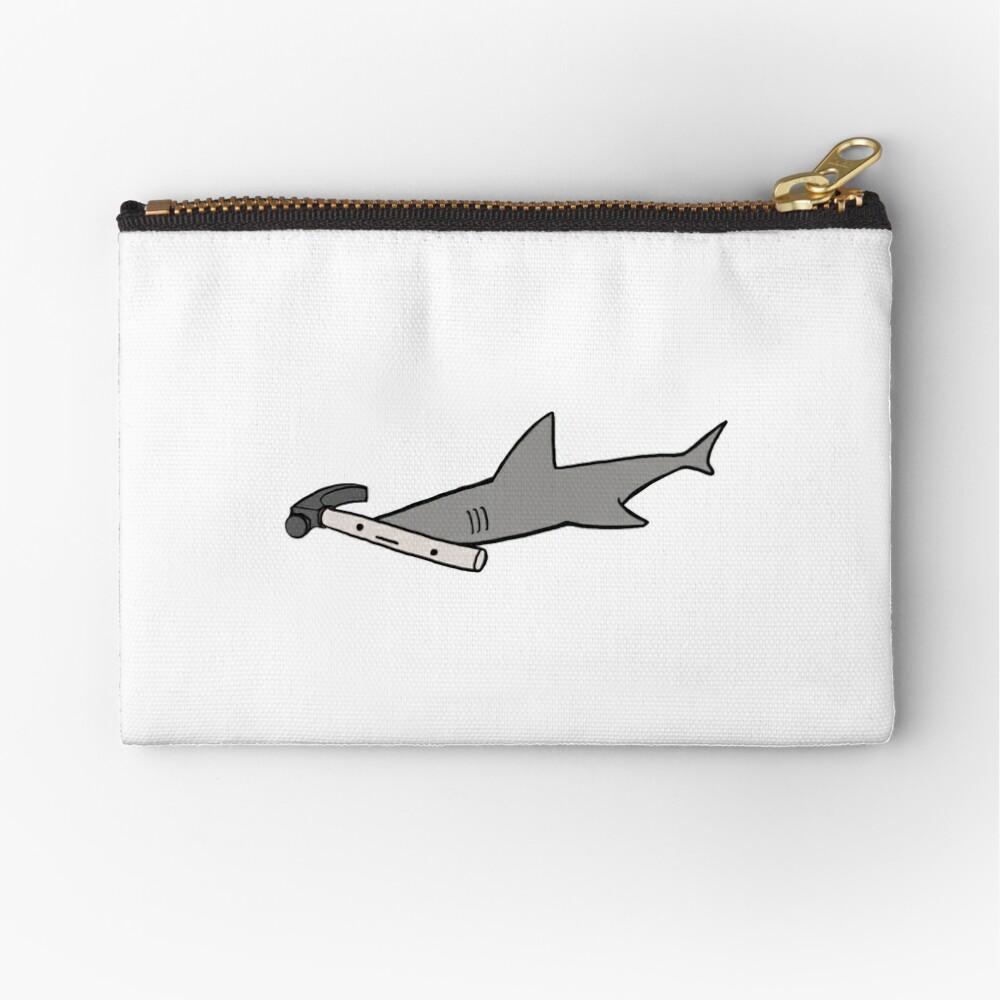 Hammerhead Shark Zipper Pouch