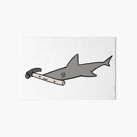 Hammerhead Shark Art Board Print