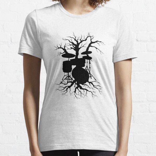 Evolución de hombre Baterista Musicales Divertido Unisex T-shirt gráfico