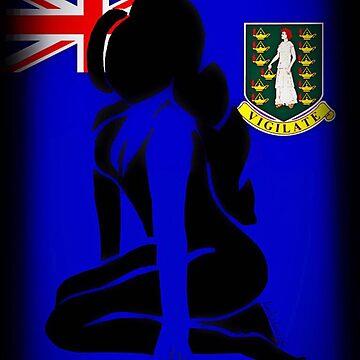 Custom Stencil Woman (British Virgin Islands) by kash2dawizzle